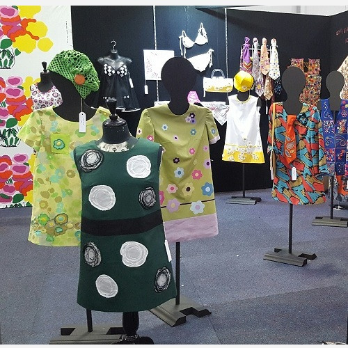 Display of Dresses - Front Dress by Joan Jeffries