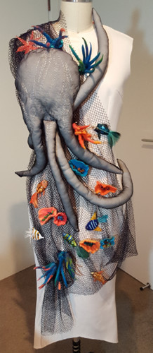 Val Tomlins Wearable Art