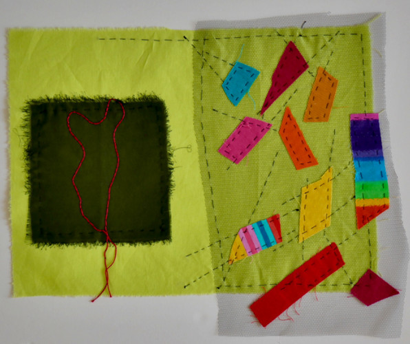 Homage To 1960's Surface Stitchery - Photo Helen Parsons